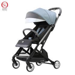 Wandelwagen van uitstekende kwaliteit van de Baby van de Legering van het Aluminium de Lichtgewicht Draagbare Vouwende