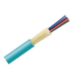Hanxin 19 anos Cabo de fibra óptica de alimentação de fábrica OEM estanque Ethernet interior em buffer Multimodo GJFJV Fibras Ópticas