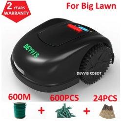 Europa-Lager-China-Fertigung Devvis Roboter-Rasenmäher-Rasenmäher-Roboter E1600t für die grosse Funktions-Kapazität des Garten-3600m2, Smartphone WiFi APP, imprägniert