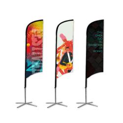 Bandeira de praia personalizado Promoção arvorando pavilhão, Praia de gota Banner