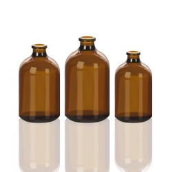 황색 투명 유리 병/Essential Glass Bottle 1oz/의료용 병 주입/주입 세트