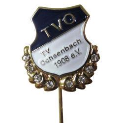 La fundición de recuerdos personalizada solapa Pin como regalo de metal con el coche el logotipo de VW (Polo-057)