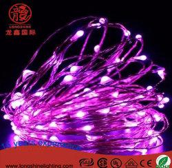 LED RoHS IP 44 Cuivre Ce String Chaîne de fée de lumière pour la décoration du Festival de vacances