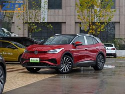 ID. 4 X SUV eléctrico puro Motor sin escobillas de coches de lujo inteligente CCS CAC EV con el coche Faro LED Auto