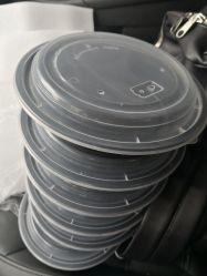 24oz раунда Выньте контейнер,РР контейнер для продуктов питания,вынос емкость,ланч-бокс,одноразовый контейнер для продуктов питания,бисфенол-А,PP микроволновая печь контейнер,алюминиевую фольгу контейнер