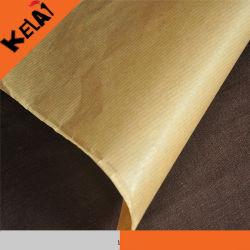 Doradas estriados de papel bolsas de papel Kraft Food Material