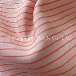 98gsm, 43%Viscose 57%Rayon de fios de tecido tingidos de Design de distribuição