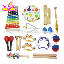 Wholesale 19PCS Wooden Musical Toys للأطفال W07A166