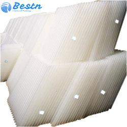 80mm en forma de panal Hexagonal placa clarificadores Lamas PP tubo PVC de planta de agua para los colonos