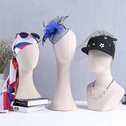 بالجملة مجوهرات عقد عرض قبعة عرض عارض الأزياء رأس نموذج