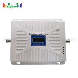 Quad Band 700MHz 850MHz 1700/21001900MHz MHz 4G Amplificateur haut OEM Grand 4G cellulaire Booster 70dB 2g 3g 4g de l'amplificateur