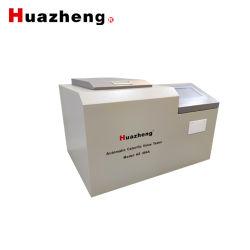 جهاز تلقائي لتفجير الأكسجين مسعر/زيت الفحم مقياس القيمة الحرارية اختبار المعدات