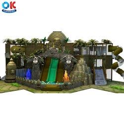 Ok le temple de terrain de jeux d'exécuter Kids Indoor aventure de l'équipement de terrain de jeu