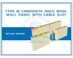 M-zusammengesetzten Felsen-Wolle-Wand-Vorstand mit Kabel-Schlitz schreiben