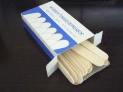 Zunge-Senker (hölzerne Spachtel/hölzerner riesiger Stock)