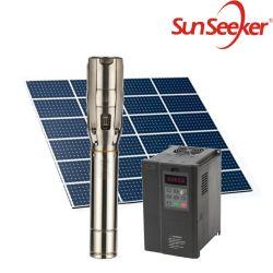 """4 """" avec du métal du contrôleur CC sans balai boîte, vis de l'eau Solaire Pomps de haute qualité de la pompe à bien l'irrigation solaire Système de la pompe à eau"""