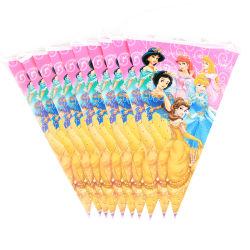 Sacchetto stabilito del bottino della paglia del cappello della bandiera del piatto fondo dei rifornimenti del partito della decorazione della festa di compleanno della principessa Happy Kids Girls
