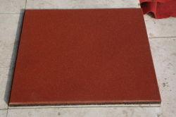 Plancher de caoutchouc standard carrée