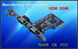 2 порт PCI Express Плата последовательного порта RS 232