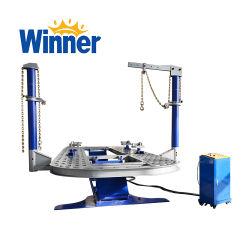 استخدم الفائز بجائزة M30 ماكينة سحب إطار بطانة هيكل الجسم الآلي مقعد إصلاح جسم السيارة