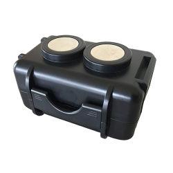 Magnetischer GPS-Verfolger-Kasten, wasserdichter starker magnetischer Stash-Kasten - Magnet-Montierungs-Schließfach-Kasten, Geocaching Behälter, unter Auto GPS