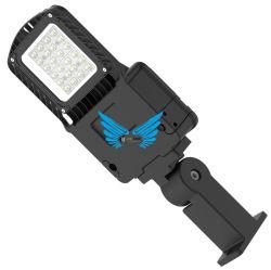 Lumileds Chip COB o SMD 50 80 100 W LED de exterior de las luces de calle PF>0.95 de la calle con certificaciones de la lámpara de LED y calificaciones RoHS CE-30 a la temperatura de funcionamiento +50