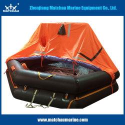 Zattera di salvataggio fuori bordo gonfiabile marina della manovella per soccorso