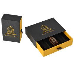 Kundenspezifische quadratische Luxuxpappverpackenkasten-kosmetischer Duftstoff-Geschenk-Papierkarton-Kasten