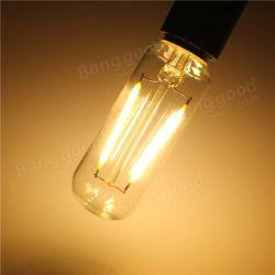 [إ14] [ت25] [2و] متوهّج أديسون [رترو] غلّة كرم شمعة ضوء مصباح دافئ بيضاء/بصيلة بيضاء [220ف]