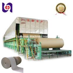 La OCC los residuos de envases de cartón ondulado de la camisa de prueba de canaleta Craft Máquina de Fabricación de papel Kraft