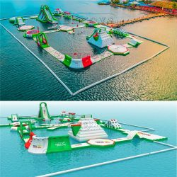 الفيليبين اوتاب اوتاب ألعاب الحديقة المائية / البحر القابل للنفخ مورد حديقة مائية