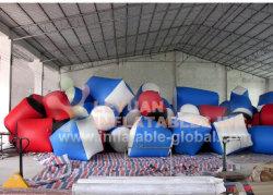 As bancas de ar infláveis barato pacote, Paintball Pacakage Bunker
