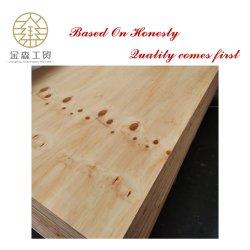 Cina fabbrica 1200X2400mm spessore 6mm-25mm colla WBP Pino CDX compensato