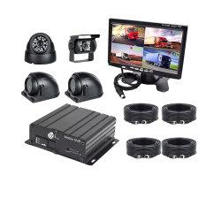 SD 카드 Mdvr 키트, 모바일 DVR 키트 4CH 실시간 CCTV H.264 720p 모바일 차량 DVR 듀얼 SD 카드 스토리지