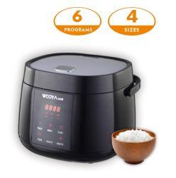 Elevadores eléctricos de equipamento de cozinha cozinhando vários tipos de alimentos com o vapor, sopa, guisados, bolo de arroz, programas de cozinha
