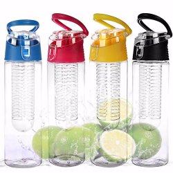24本のOzの卸し売りロゴの印刷のプラスチックびん、フィルタに掛けられた水差し、Tritanのプラスチックフルーツの水差し