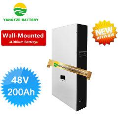 Yangtze Neues Produkt 48V 200Ah Lithium-Ionen-Batterie Wandbatterie Li-Ion-Lithium-Akku für Energiespeicherung