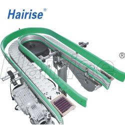 صنع وفقا لطلب الزّبون [بفك/بو] حزام سير أو بلاستيكيّة تضمينيّة حزام سير منحنى ناقل