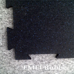 Interlocking dell'interno Rubber Floor per Sport Gym
