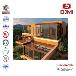 Dobragem de venda quente elegante casa prefabricados tampo plano de projeto Sunroom Têmpera