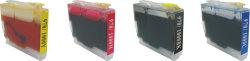 De Patroon van de inkt (LC51/57/960/1000BK/C/M/Y)