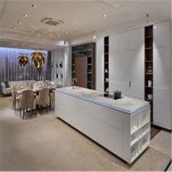 Fábrica de Foshan Armario de Cocina de diseño de moda la cocina armario lacado alto brillo