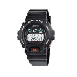 Clásica de plástico dígito Sport Watch