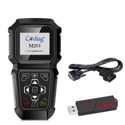 Godiag M201 FORD OBDII portable outil professionnel de réglage du compteur kilométrique