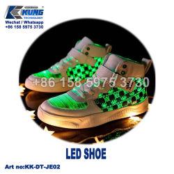 Van de LEIDENE van het LEIDENE Herladen van Schoenen Tennisschoenen die Sporten van Schoenen de Lichte de Schoenen van de Sport in werking stellen