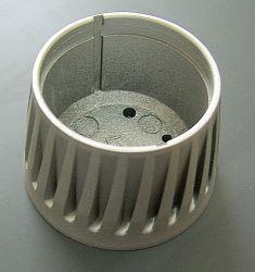 La aleación de aluminio moldeado a presión del Gabinete del radiador de iluminación LED