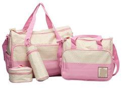 Portable hermoso color rosa, bolsas de pañales de bebé momia sacos de dormir
