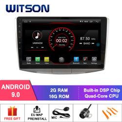 """Witson 10.2 """"フォルクスワーゲンMagotan/Passat B7 2010-2016年のための大きいスクリーンのアンドロイド9.0車DVD"""