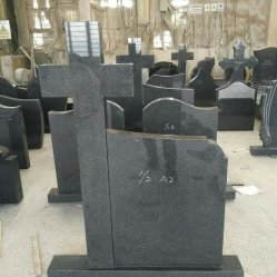 Русский стиль гранита Tombstone/Headstone/памятник с пользовательскими дизайн