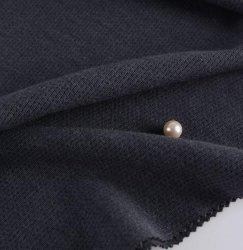 Mélange de polyester coton Double côté Rib 60/40 TRICOT DE VERROUILLAGE